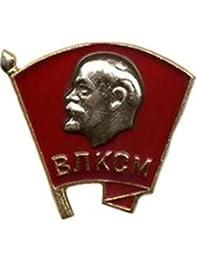 Komsomol The Young Communist League Screw USSR Soviet Russian antiglobalist Pin CCCP