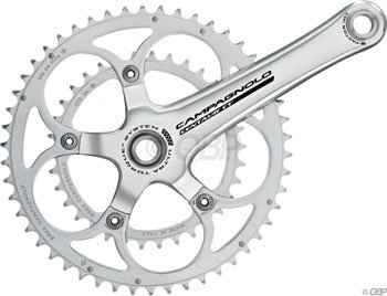 Campagnolo Re, Ch 2x10sp chainring, 135BCD - 39t by Campagnolo