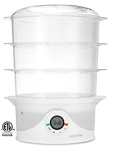 Gourmia SteamTower300 Electronic Digital Vegetable
