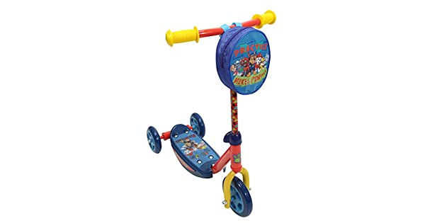 Amazon.com: Playwheel Paw Patrol - Patinete de 3 ruedas ...
