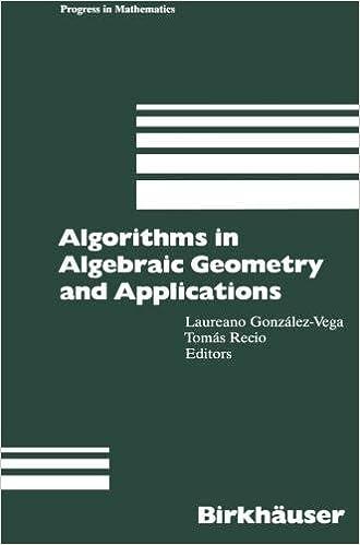 Amazon com: Algorithms in Algebraic Geometry and