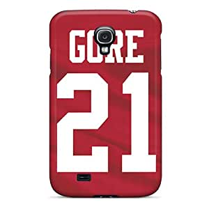 High Quality Mobile Cover For Samsung Galaxy S4 With Customized High-definition San Francisco 49ers Pictures CharlesPoirier