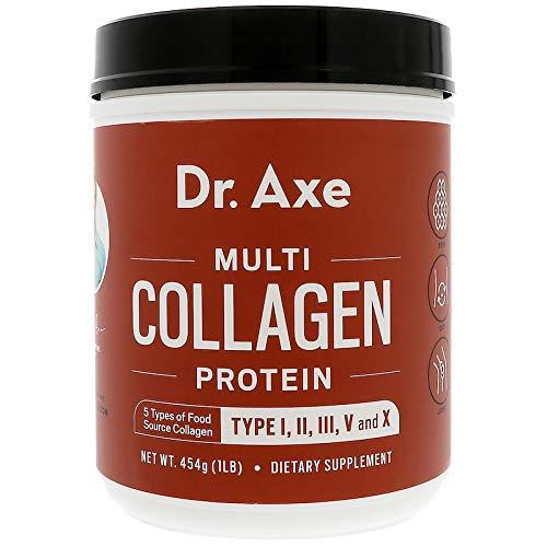 Dr. Axe/Ancient Nutrition, Multi Collagen Protein Powder, 1 lb (454 g) by Dr. Axe/Ancient Nutrition