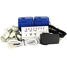 """Flood Prevention Device- Leak Detection and Automatic Shutoff System with Two ¾"""" Ball Valves and 8 Sensors, Loud Alarm Flood Prevention System, a U.S. Solid Product"""