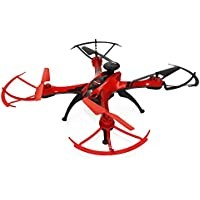 RTF GPS Brushed RC Quadcopter - 2MP CAMERA (RED)