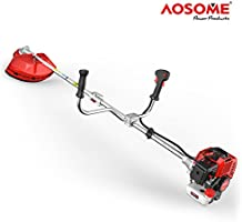 AOSOME Desbrozadora Gasolina 52cc, 2 Tiempos, 2.2kw, 3.0HP: Amazon ...