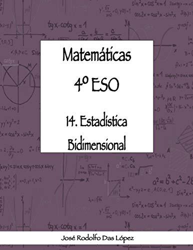 Matem+ticas 41/4 Eso - 14. Estad'stica Bidimensional (Spanish Edition)