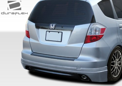 Duraflex ED-NYU-939 Type M Rear Lip Under Spoiler Air Dam - 1 Piece Body Kit - Compatible For Honda Fit 2009-2013