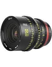 MEKE 50mm T2.1 Full Frame Manual Focus Cinema Lens for Canon Cameras with EF Mount