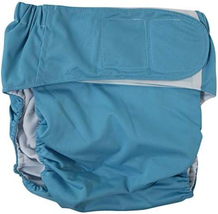 dailymall 失禁パンツ 尿漏れパンツ 布おむつ 快適性 漏れ防ぐ 柔らかい 防水性 通気性 全5カラー - 青