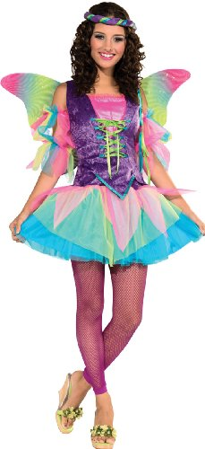 Rubie's Costume Deluxe Renaissance Fairy Tutu With Wings, Multicolor, Small Costume