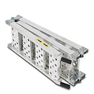 Constands rampe de chargement III en aluminium, max. 300 kg, triple pliable, pour Moto, Scooter, Quad, ATV