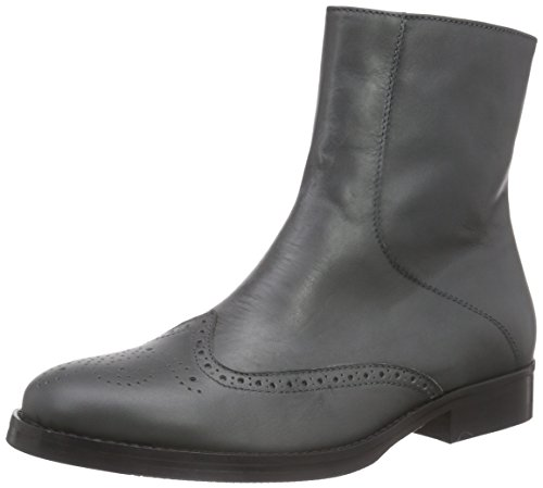 Leather Mentor Grau Brogue Ankle Gray Boot Grey Women's Boots U86wqnAUZ