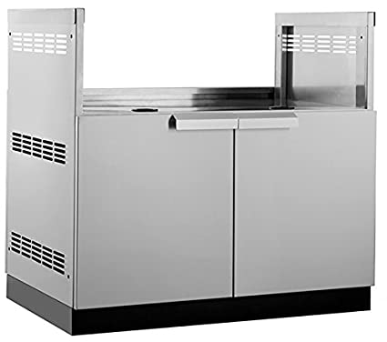 Newage Outdoor Kitchen 40 Insert Grill Cabinet In Stainless Steel