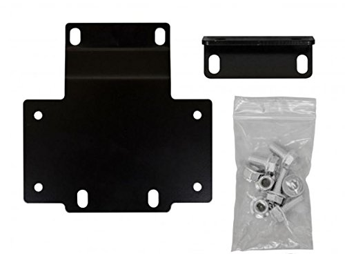 SuperATV Honda Pioneer 1000 Heavy Duty Winch Mounting Plate (2016+)