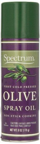 Spectrum Extra Virgin Olive Oil Spray, 6-ounces (Pack of3)