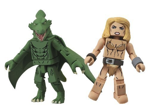 [Diamond Select Toys Marvel Minimates Series 51 Marvel Now Shanna The She-Devil and Sauron Action Figure by Diamond] (Sauron Costumes)