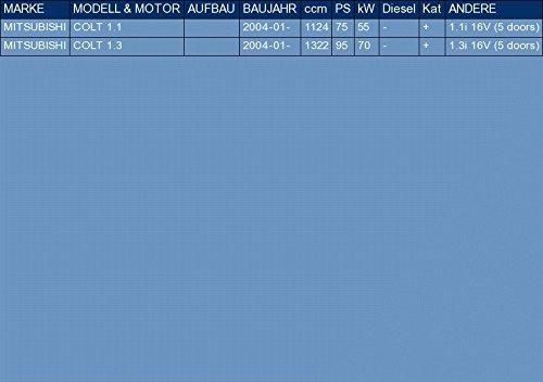 pour COLT 1.1 1.3 75//95hp 2004- ETS-EXHAUST 3225 Silencioso Trasero