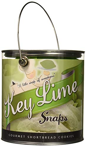 Flathau's Fine Foods Gourmet Cookies, Key Lime Snaps, 16-Ounce Can (Best Gifts From Florida)