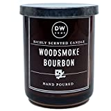 DW Home Small Woodsmoke Bourbon Scented Candle