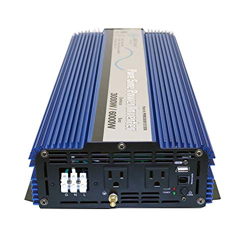 AIMS Power PWRI300012120SUL 3000 Watt Pure Sine Wave Power Inverter, ETL Listed by AIMS Power (Image #6)