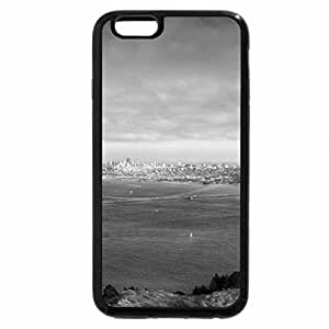 iPhone 6S Case, iPhone 6 Case (Black & White) - Pygmy Goat at the Gate