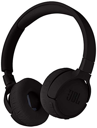 JBL Tune 600 BTNC On-Ear Wireless Bluetooth Noise Canceling Headphones – Black (Renewed)