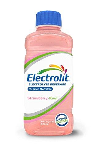 Electrolit 21oz Hydration Beverage Drink w/ Electrolytes - Pack of 12 (Strawberry-Kiwi)