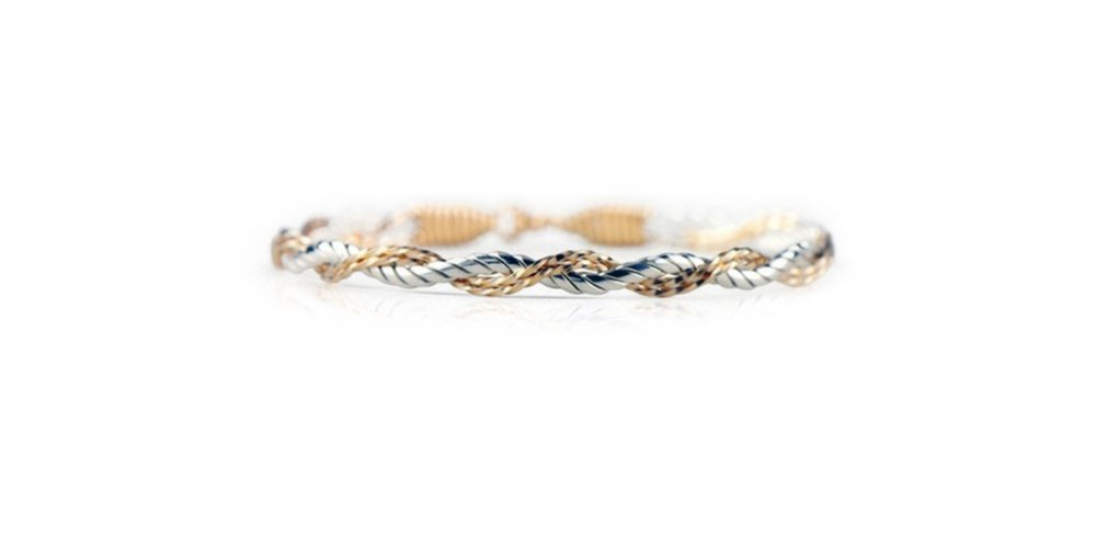 The Tied Together Bracelet - Ronaldo Designer Jewelry (7.5)