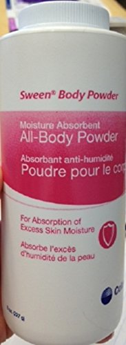 Sween Lightly Scented Body Powder 8 oz. in Volume Shaker Bottle by Sween 24 (Image #1)