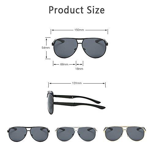 White Los Clásicos White Espejo Hombres De Pesca Las Sol De Conductor Gafas De Conducción Polarizadas Gafas De De De Sol Metal De Gafas Sol De 4gcqI