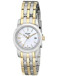 "Tissot Women's T0332102211100 ""Classic Dream"" Analog Display Two-Tone Watch"
