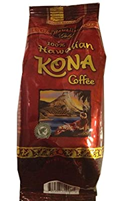 100% Hawaiian Kona Coffee - 10oz - Whole Bean