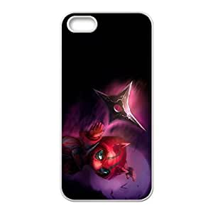iPhone 4 4s Cell Phone Case White League of Legends Deadly Kennen KWI8915137KSL