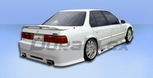 Duraflex Replacement for 1990-1993 Honda Accord 2dr / 4DR Spyder Rear Bumper Cover - 1 Piece