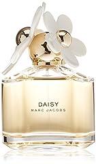 Daisy by Marc Jacobs for Women 3.4 oz Eau de Toilette Spray  Notes - FRUITY TOP: Wild berries. FLORAL HEART: White violet, jasmine. FEMININE BASE: Sandalwood