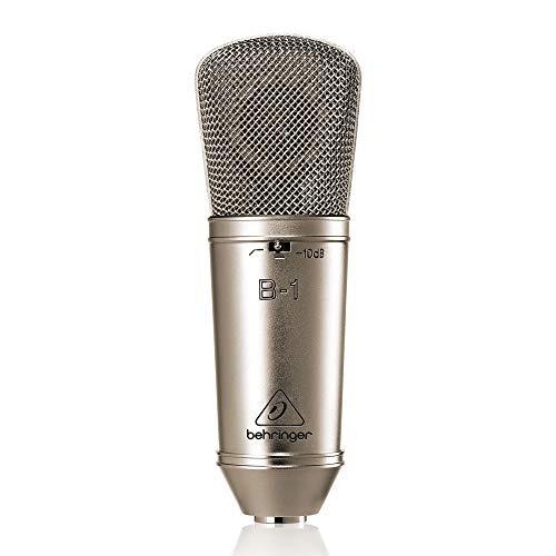 (Behringer B-1 Gold-Sputtered Large-Diaphragm Studio Condenser Microphone)