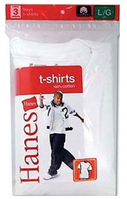 Hanes Boy's T-Shirts (pack Of 30) from Hanes