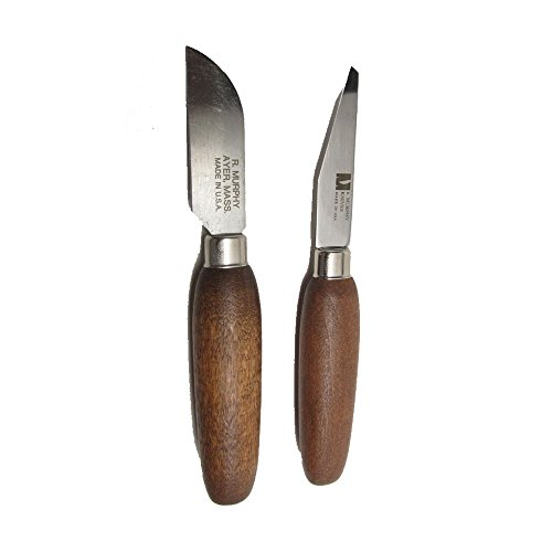 R Murphy Leather-working Carving Lab Knife Set Shoe Maker's Wood Carver's Complete Bundle Training Gift Kit -