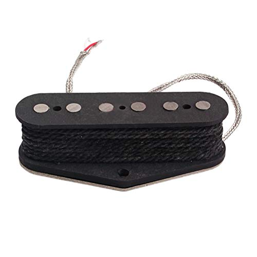 (Healifty Vintage Alnico V Guitar Pickup Magnet Neck Pickup Alnico 5 Pickup for Fender Telecaster/Tele Electric Guitar Parts Replacement GMA02)