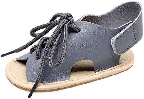 ボコダダ(Vocodada)男の子 女の子 サンダル 子供抗菌防臭サンダル 滑り止め スリッパ 子供用スリッパ キッズ サンダル オシャレ 幼児の靴 歩くを学ぶ 無地 バンド 結び マジックテープ 面白いデザイン 4色 男女兼用