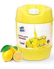 صابون سائل لغسيل الأطباق برائحة الليمون من موبي، 20 لتر