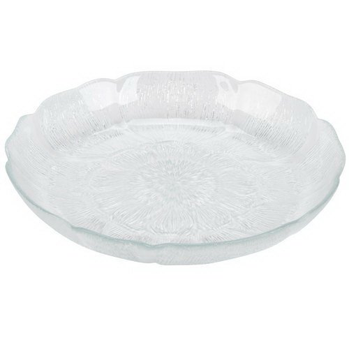 Cardinal Arcoroc 48728 15 oz. Fleur Glass Soup / Deep Salad Plate / Bowl 6 / Pack