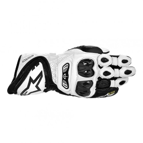 Alpinestars GP Tech Gloves - Small/Black/White