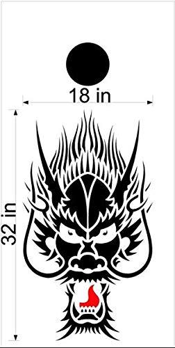 Dragon Mythical Creature GOT コーンホールボード デカールステッカー グラフィックス 17 B07HRTVHGK
