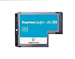 SCM SCR3340 Common Access CAC DoD and Military ID Smart Card SmartCard Reader (ExpressCard interface CCID Compatible) for Vista XP and Linux Laptop Computers