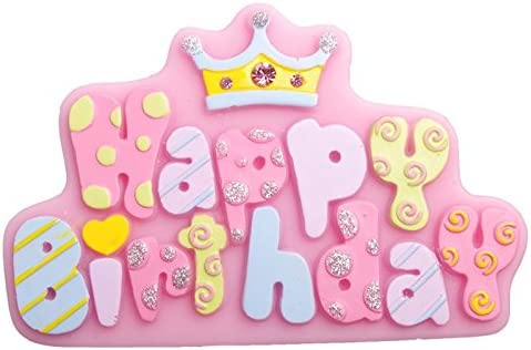 1 pcs feliz cumpleaños carta forma fondant molde molde de ...