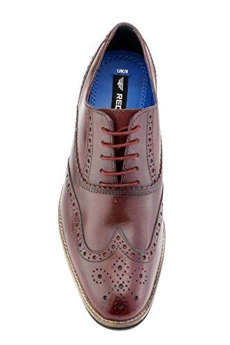 Red Tape Herren Kildare Bordo Formal Schuh