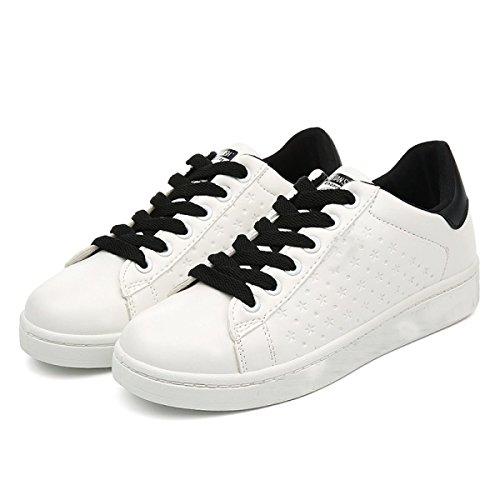 CHT Zapatos De Primavera Y Otoño Femeninos Ocasionales De Los Deportes Que Se Ejecutan Black
