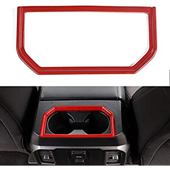 Red Interior Dashboard Frame Cover Trim For Ford Fusion//Mondeo 2017-2018
